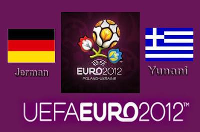 hasil pertandingan jerman vs yunani EURO 2012