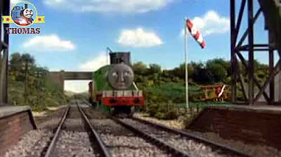 Thomas the tank engine branchline water tower flagpole holding the runway wind sock at Sodor airport
