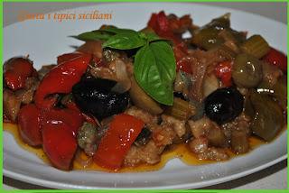 la (mia) caponata siciliana