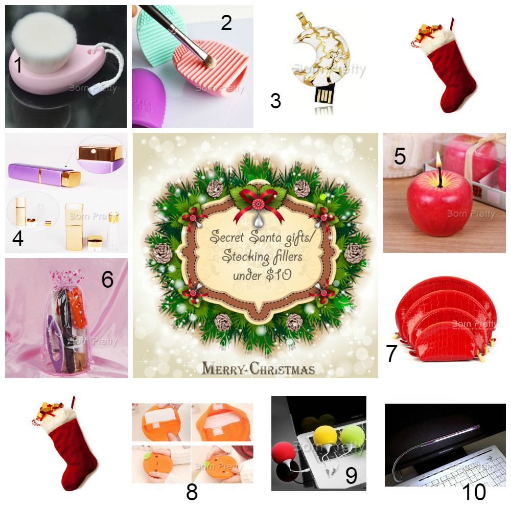 cosette 39 s beauty pantry secret santa gifts stocking fillers under 10. Black Bedroom Furniture Sets. Home Design Ideas