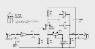 Circuit Guitar Pre-amp