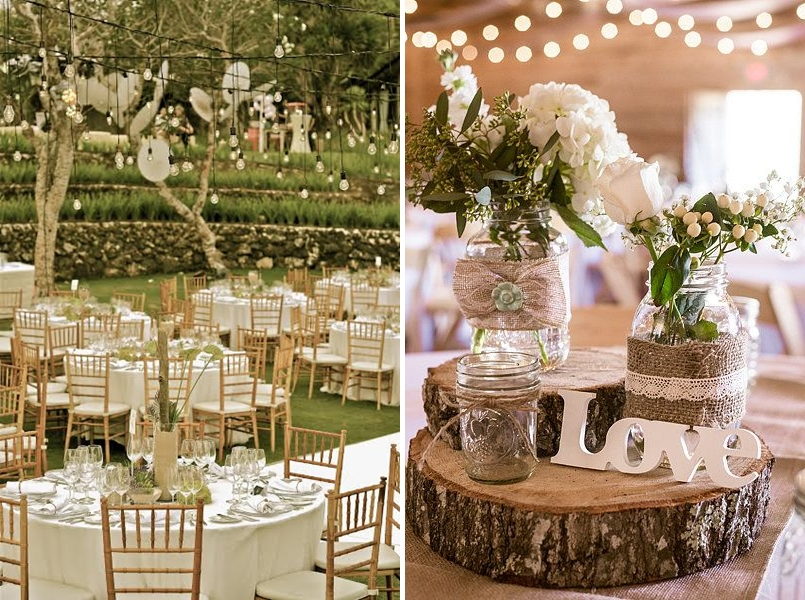 Favorite wedding theme for reception looks steves decor well for us there is something about rustic theme its not only trend or a fad its a style which pulls all of your creativity into your wedding junglespirit Image collections