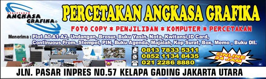Jasa Fotocopy dan Print Warna Murah Cepat Layanan 24 Jam Jakarta