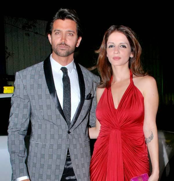 Hrithik Roshan and Sussanne Roshan Ready For Divorce