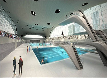 Olympic swimming tickets london aquatics centre and - Stratford swimming pool opening times ...