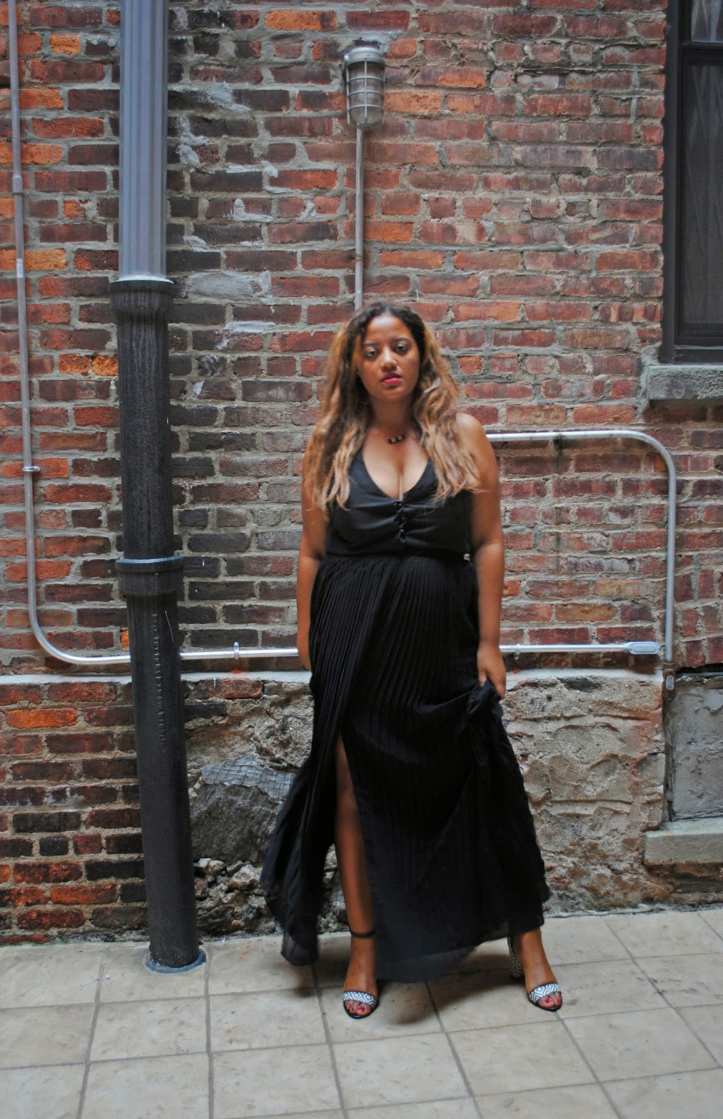 Edie's Closet; As Goth As It Gets, BCBGeneration Dress