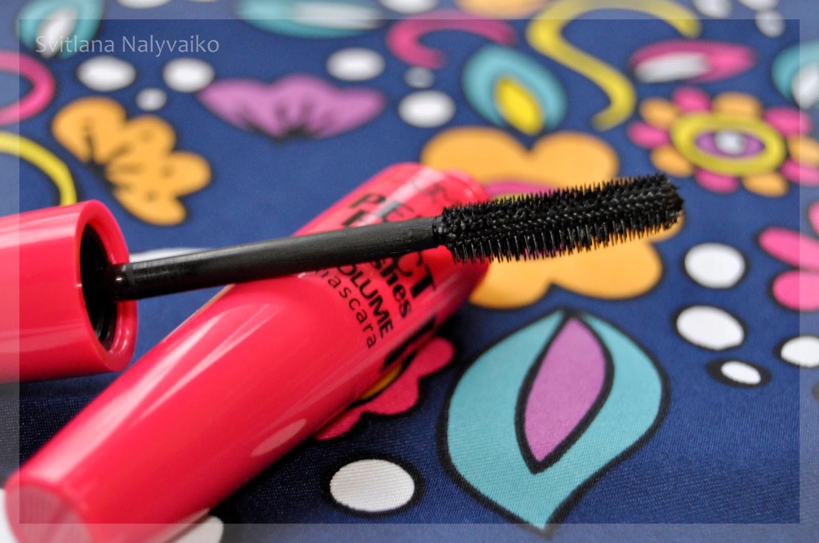 Объемная тушь для ресниц Идеальные ресницы Lamel Professional Perfect Lashes Volume Mascara