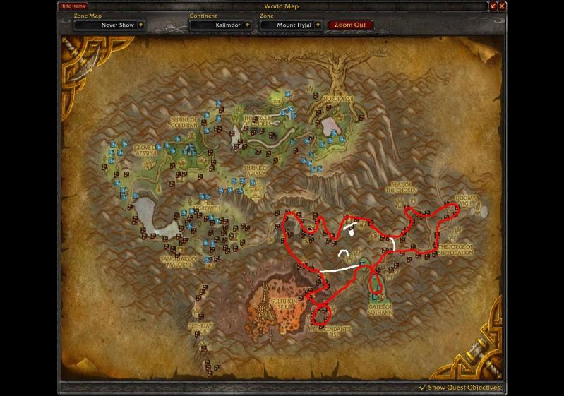 Master Of World Of Warcraft Herbalism Farming Routes