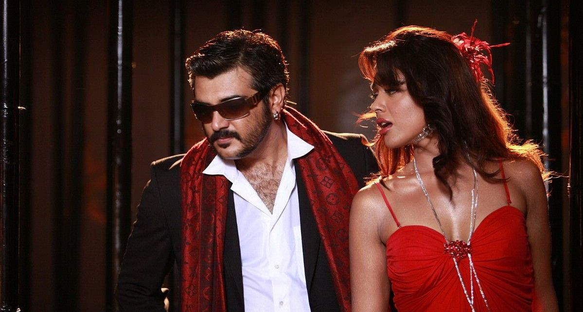 Sameera Reddy Ajith in Soolam Tollywood Movie Stills