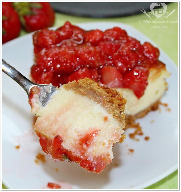 Receita fácil de cheesecake