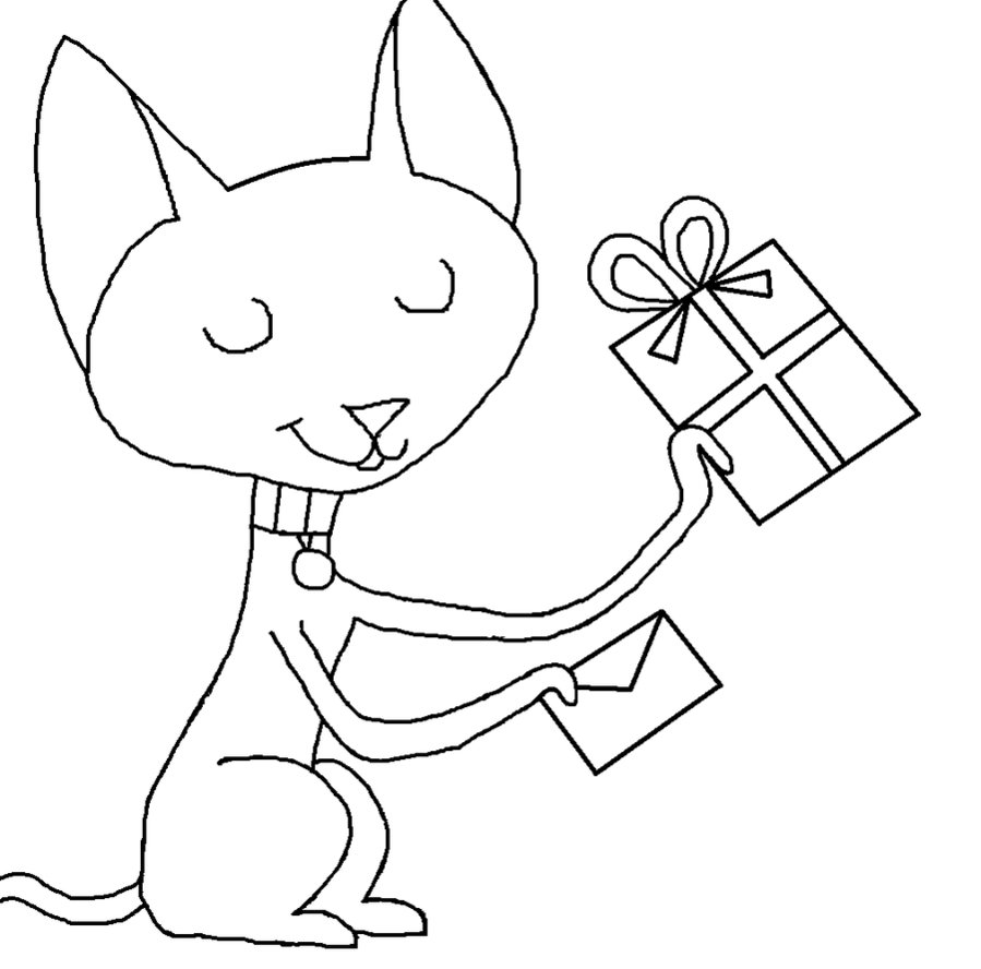 LAMINAS PARA COLOREAR - COLORING PAGES: Kid vs Cat para imprimir ...