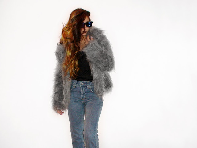 faux fur street style 2015