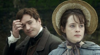 Matthew Macfadyen as Arthur Clennam with Amy Dorrit