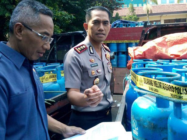 Polresta Depok Bekuk Agen Gas Nakal