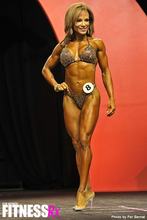 Adela Garcia Female Muscle Bodybuilding Blog FitnessRXMag