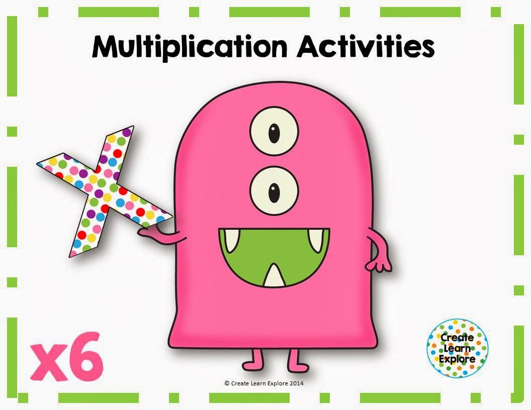 http://www.teacherspayteachers.com/Product/Multiplication-Activities-x6-1117800