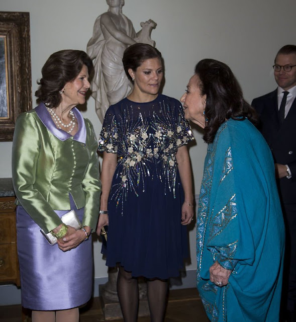 King Carl XVI Gustaf and Queen Silvia of Sweden, Crown Princess Victoria and Prince Daniel of Sweden, Prince Carl Philip of Sweden