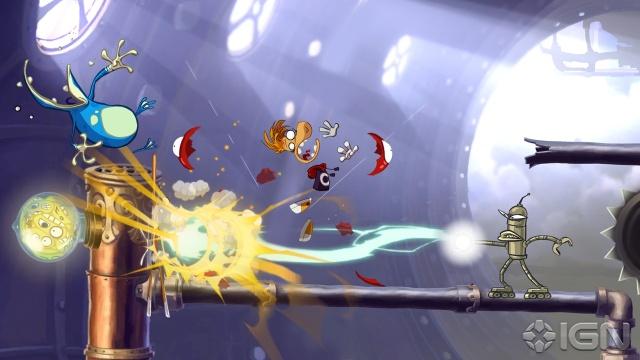 Rayman Origins XBOX 360 Full 2011 RF Español ISO Descargar