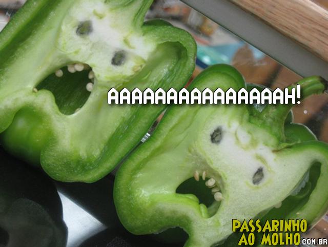 pimentão verde, aah