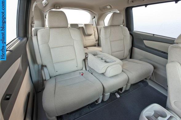 Honda odyssey car 2013 interior - صور سيارة هوندا اوديسي 2013 من الداخل