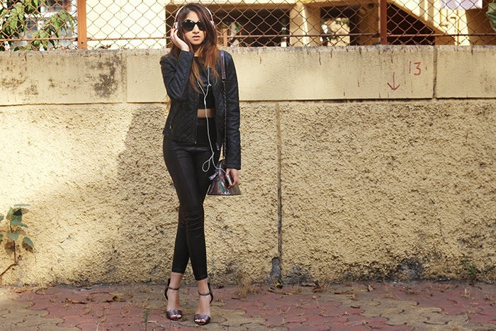 All leather everything.