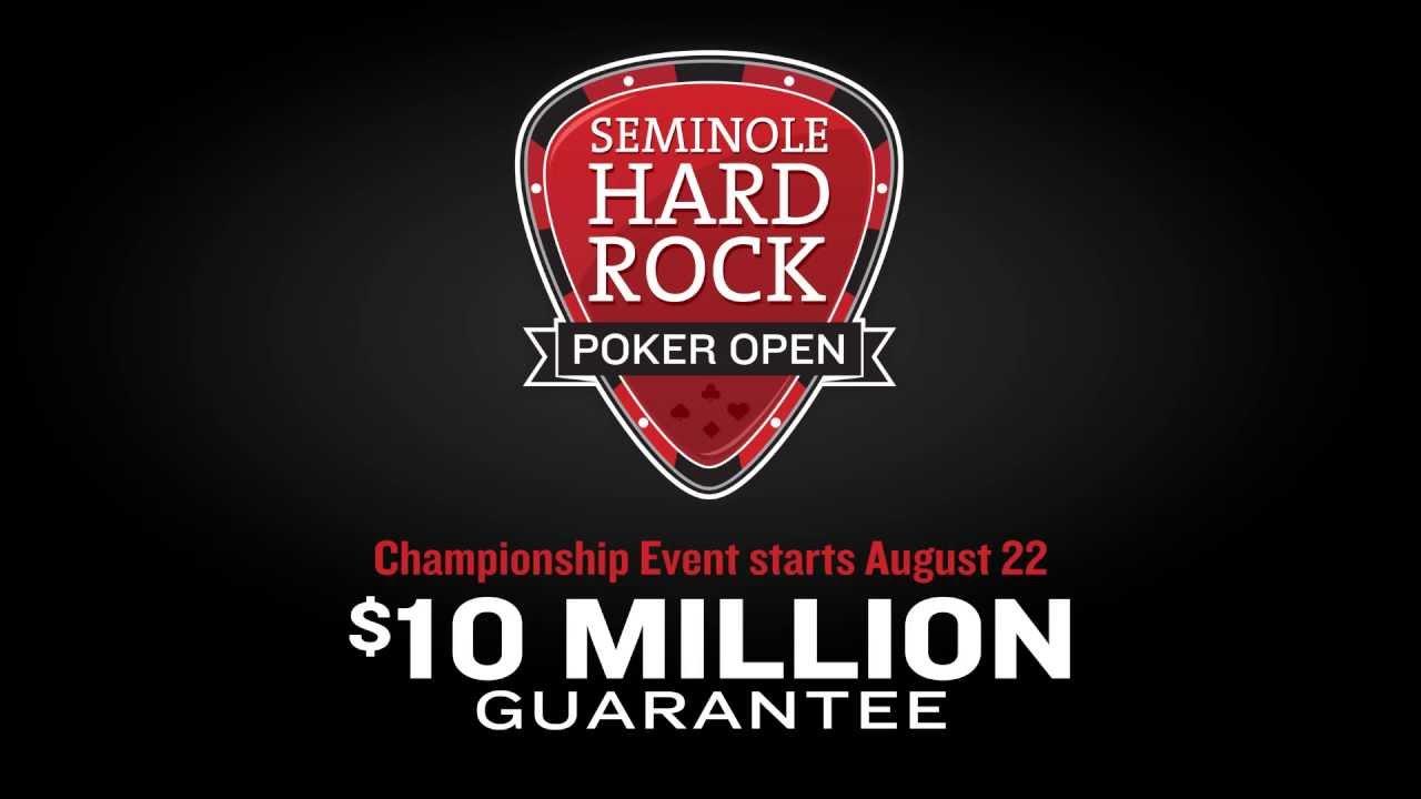 Seminole hard rock casino poker casino canberra poker tournaments