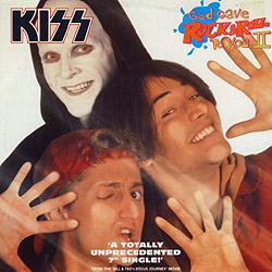 Portada del single God gave rock n' roll to you II de Kiss
