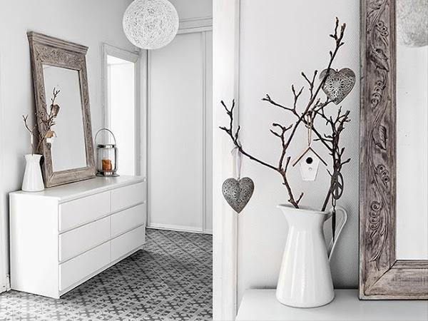Un piso decorado en gris que har que te olvides del blanco - Pisos decorados con encanto ...