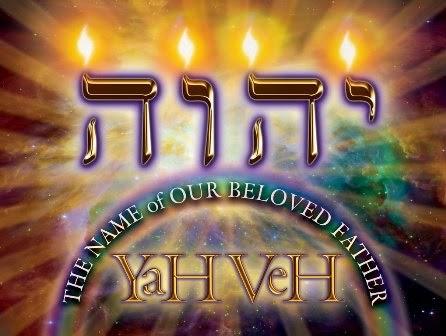 El nombre de nuestro amado padre es YAHWEH