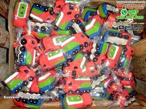 Souvenir Truck Pertamina Clay Kab Bondowoso