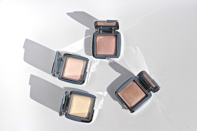 hourglass ambient strobe powder swatches