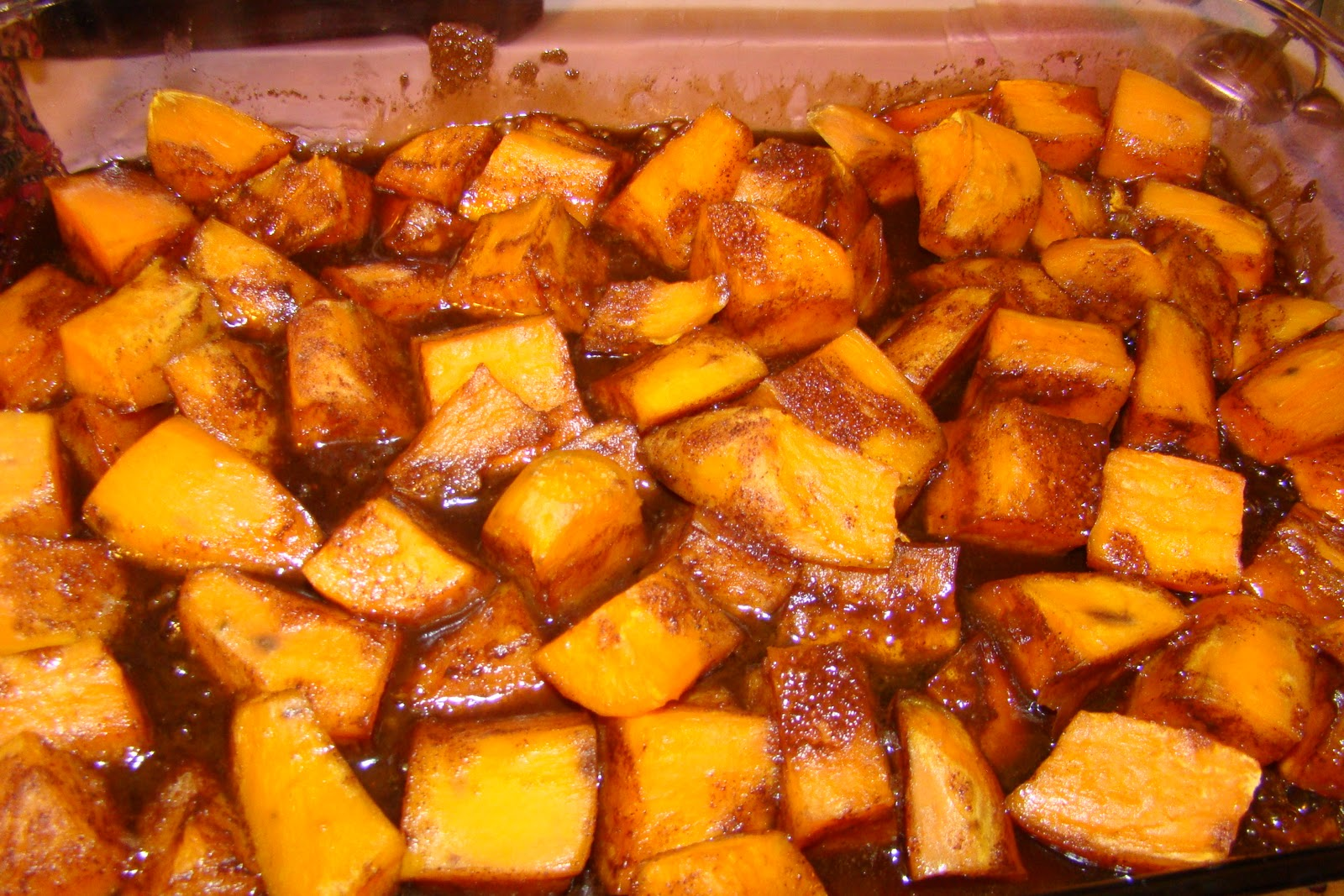 Glazed Sweet Potatoes With Brown Sugar And Lime Recipe — Dishmaps