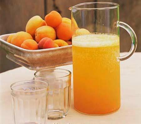 طريقة عمل عصير المشمش بالبرتقال