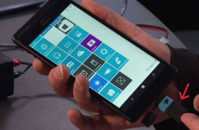 Windows 10 USB OTG demo