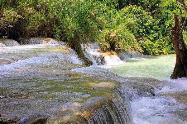 Cachoeiras de Kuang Si (Laos)