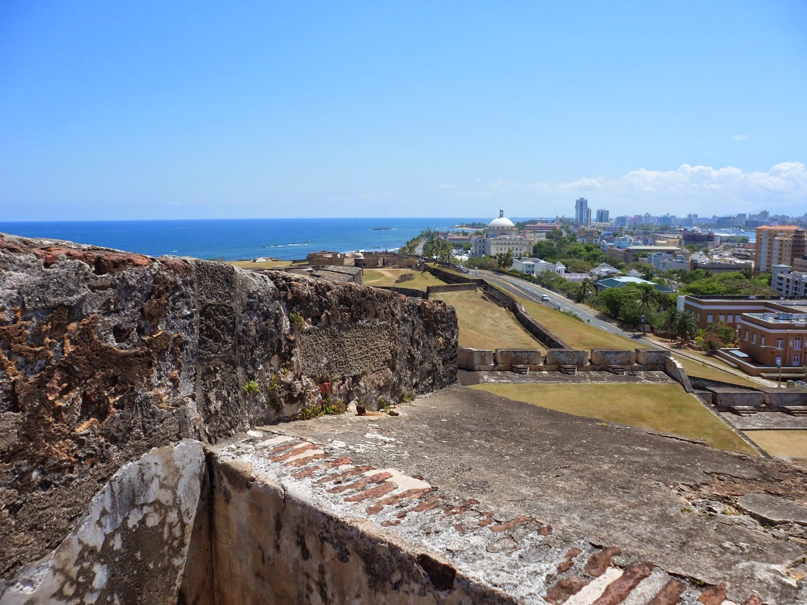 Fort San Cristobal, Old San Juan, Puerto Rico, history, vacation