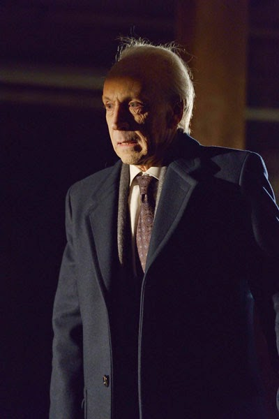 Jonathan Hyde as wealthy old billionaire Eldritch Palmer in The Strain Season 1 Episode 2 The Box
