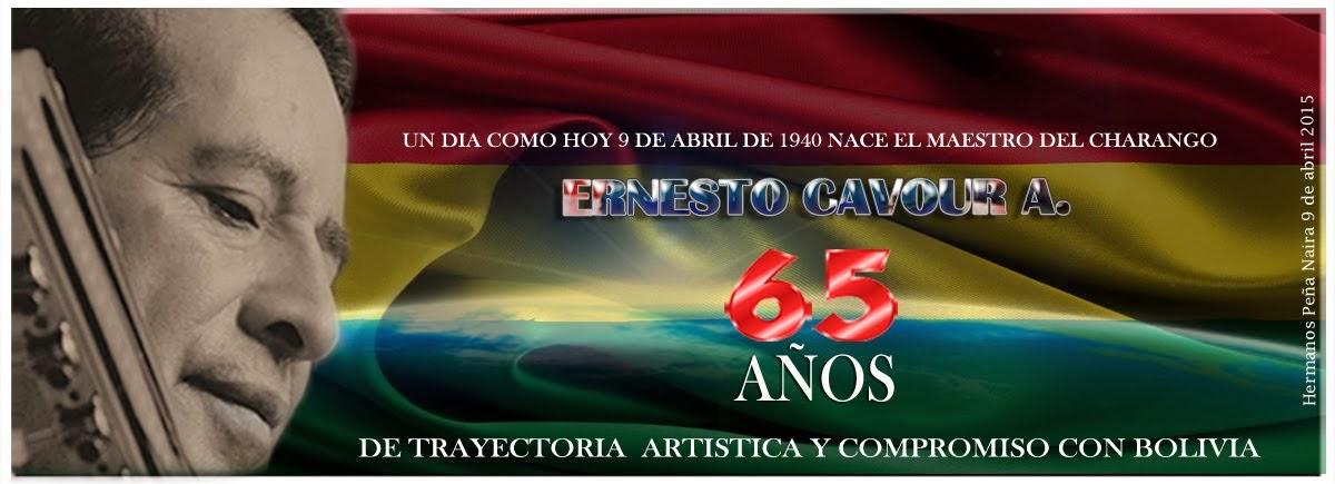 Ernesto Cavour A. 65 años de trayectoria artística y compromiso con Bolivia