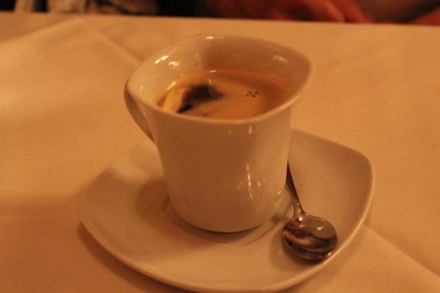 Espresso at Ristorante Massimo, Portsmouth, N.H.