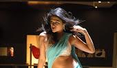 glamorous Shradda das hot navel show in blue saree
