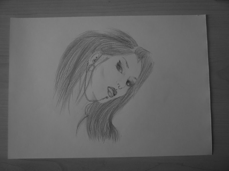 also drawed Amy Winehouse. I already love her music since I was 9 or  title=