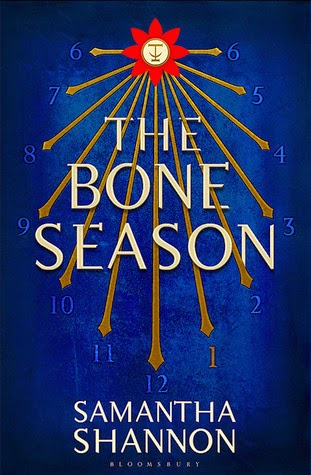 Book cover of The Bone Season by Samantha Shannon
