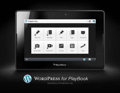Wordpress v2.1.2 for BlackBerry PlayBook