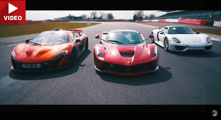 Holy Trinity Of Hypercars Owner Gives Charity Rides At Silverstone