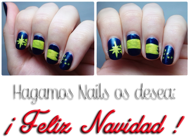 Felices Fiestas by Hagamos Nails