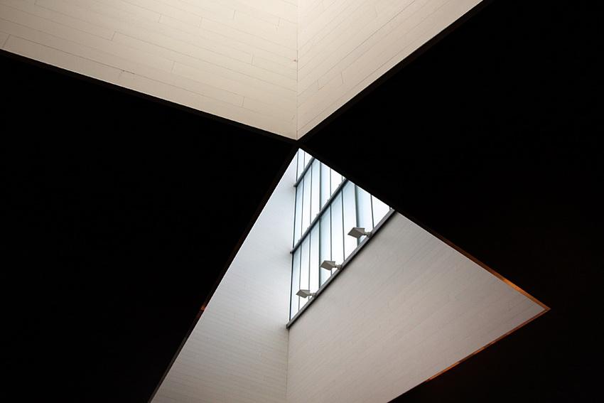 Hall de entrada - Clarabóia