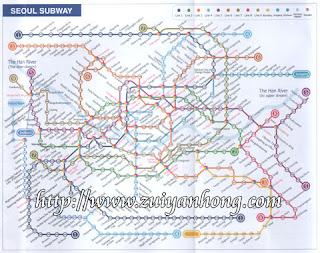 首尔地铁图