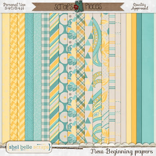 New Beginning by Shel Belle Scraps