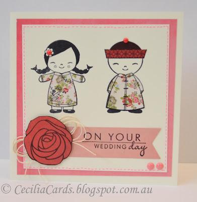 Asian Wedding Card 12