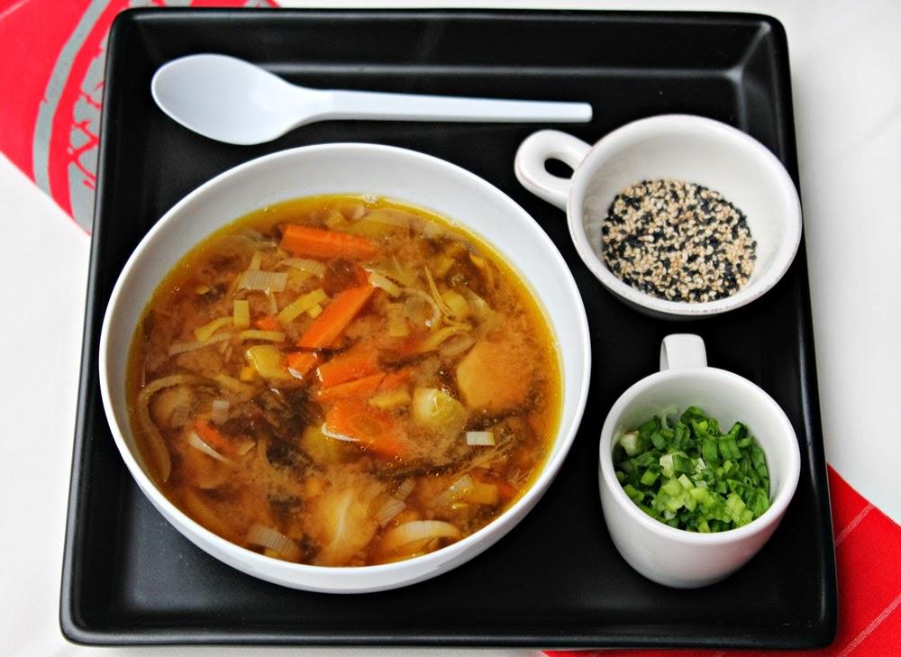 zupa miso Dziki Naśladowca